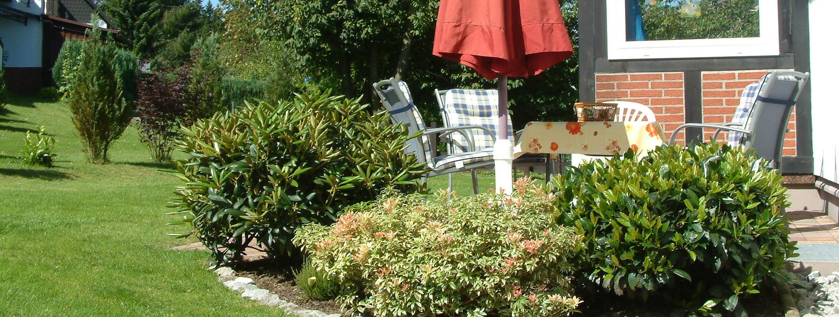 Foto Terrasse im Garten Wohnung Cornelia
