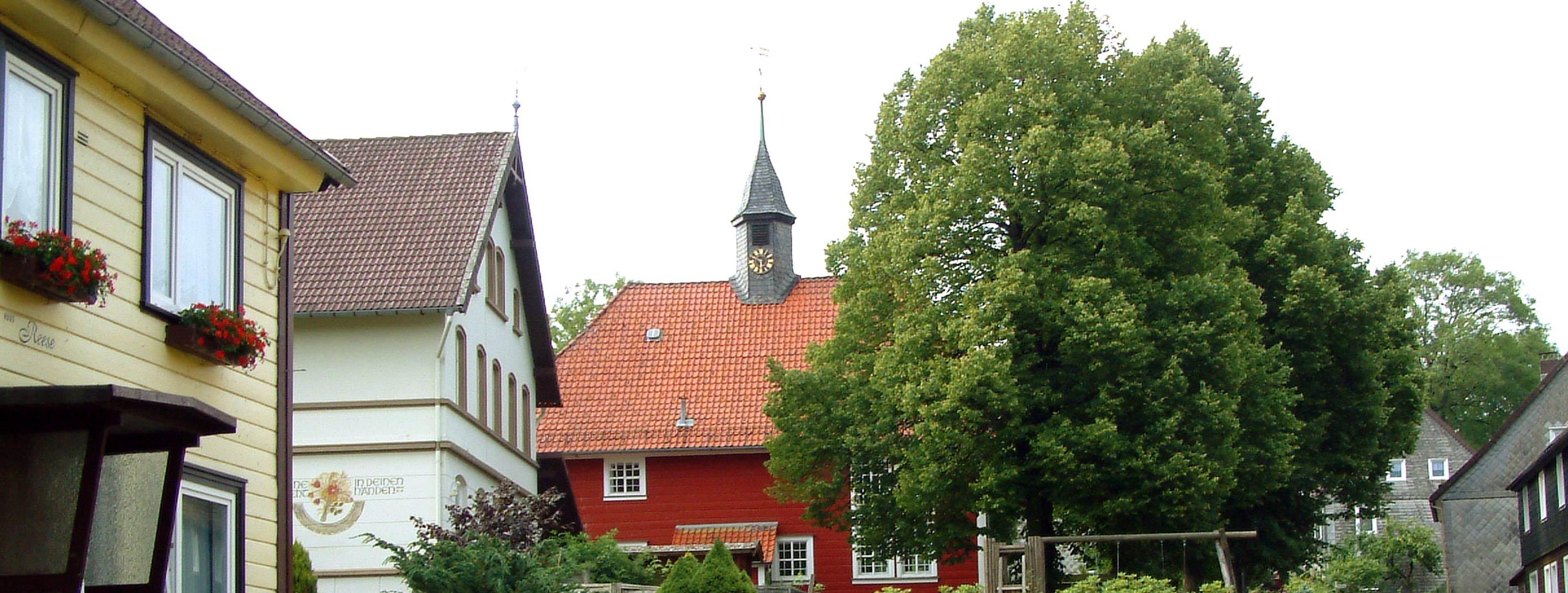 Foto Dorfkirche Buntenbock im Harz