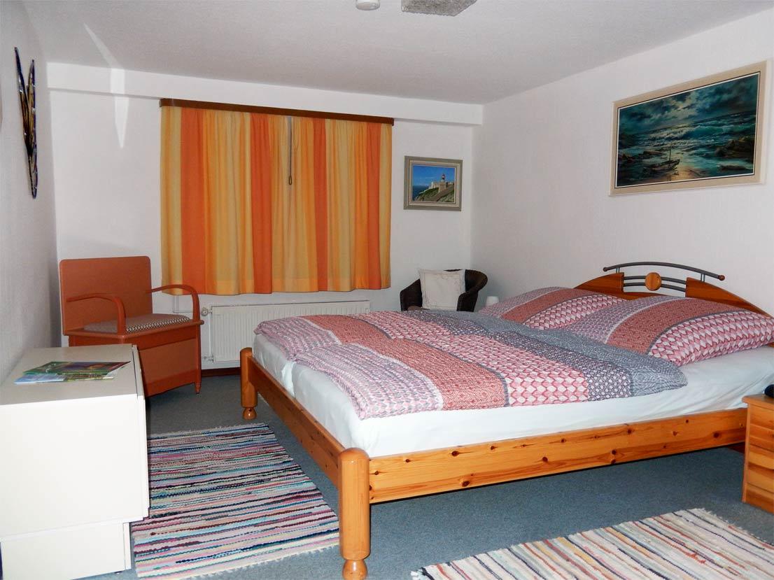 Urlaub im Harz - Ferienwohnung Doris Schlafzimmer