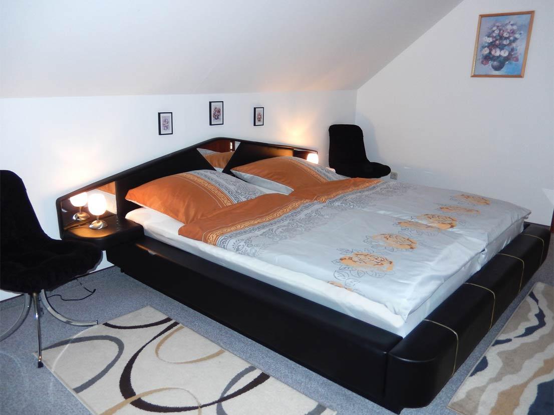 Foto Ferienwohnung im Harz Schlafzimmer Wohnung Cornelia